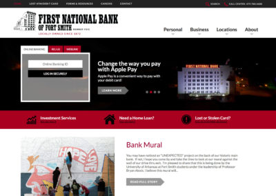 First National Bank of Fort Smith Website